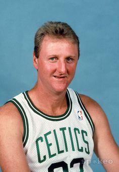 Larry Bird ... Boston Celtics.