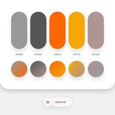 No photo description available. Flat Color Palette, Colour Pallette, Colour Schemes, Color Patterns, Color Combos, Ui Color, Web Design, Color Swatches, Color Theory