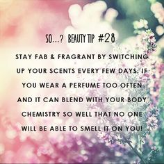 www.sowithattitude.com  #smell #fragrance #tips #tricks #perfume