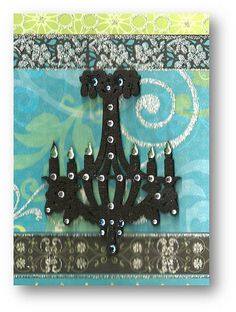 Bling Chandelier Card by dluxedesigns, via Flickr