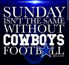 .Sundays wathcing Cowboys #cowboysforever