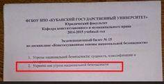 Нотатник: Украина как угроза национальной безопасности