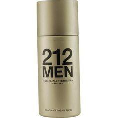 212 By Carolina Herrera Deodorant Spray 5 Oz – uhsupply