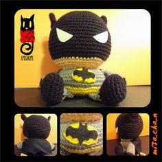 Juguete Artesanal Amigurumi Batman - Aldea Batman, Knowledge, Crochet Hats, Beanie, Baby, Amigurumi, Tejidos, Knitting Hats, Beanies