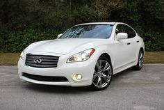infiniti m37x   Thumbs Up: Nimble, still quick with the V-6. Sports package plus tour package plus two TVs =s Mine :-) heated plus cooling seats, heated steering wheel, privacy screen, Forest air!, this car has everything! Love it!!
