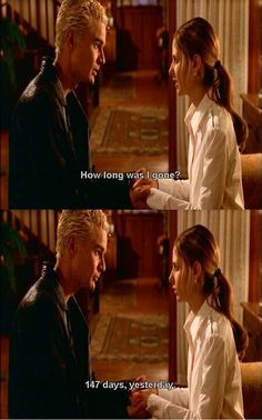 Buffy and Spike; this melted my heart