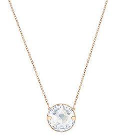 Swarovski Globe Pendant Necklace