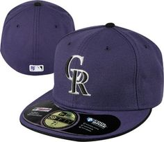 Colorado Rockies Purple On-Field 59FIFTY Fitted Hat