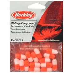 Best price on Berkley WCFLT Walleye Rig Component Floats, Orange/White, 9/16-Inch  See details here: http://bigfishmart.com/product/berkley-wcflt-walleye-rig-component-floats-orangewhite-916-inch/    Truly the best deal for the reasonably priced Berkley WCFLT Walleye Rig Component Floats, Orange/White, 9/16-Inch! Take a look at this low cost item, read buyers' notes on Berkley WCFLT Walleye Rig Component Floats, Orange/White, 9/16-Inch, and get it online not thinking twice!  Check the price…