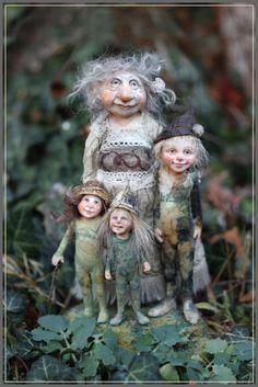Chopoli.  art dolls