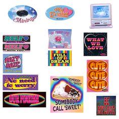 Carta Collage, Wall Collage, Pop Stickers, Printable Stickers, Journal Stickers, Diy Phone Case, Aesthetic Stickers, Grafik Design, Sticker Design