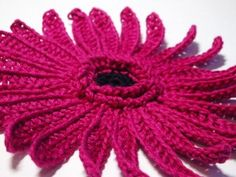Crochet Gerbera Flower Pattern & Tutorial (have to scroll down once you get to the site).