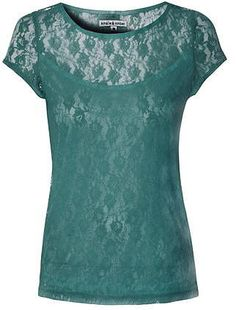 Womens teal t-shirt from Dorothy Perkins - £20 at ClothingByColour.com