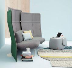 HAWORTH présente de nouveaux meubles réalisés par Patricia Urquiola au NEOCON 2014.