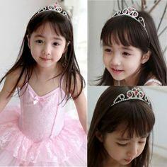 Crystal Rhinestone Wedding Crown Princess Tiara headband