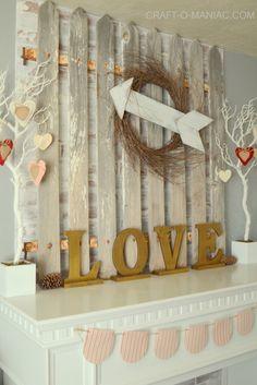 Valentine Living Room Decor| 2017