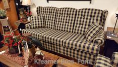 Kreamer Brothers Furniture is a family-owned furniture store and features a variety of home furnishing styles with an emphasis on country furniture for South Central Pa. Country Sofas, Country Furniture, Brothers Furniture, Home Furnishings, Primitive, Fabrics, Couch, Decorating, Home Decor