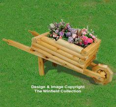 Landscape Timber Crafts, Landscape Timbers, Landscape Design, Wheelbarrow Planter, Planter Boxes, Rustic Crafts, Wood Crafts, Diy Crafts, Diy Wood Projects