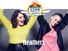 Heathers play Bulmers Live at Leopardstown on Thursday June 19th! www.bulmersliveatleopardstown.com