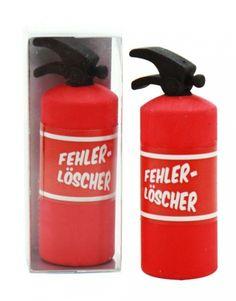 Radiergummi Collection Feuerlöscher