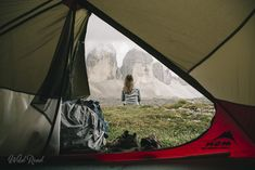 Dolomites Tre cimes di Lavaredo Sac A Dos Trek, Grand Canyon, Formations Rocheuses, Outdoor Gear, Tent, Wanderlust, Go To Sleep, Italy, Store