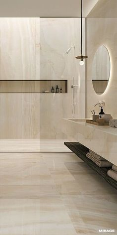 Luxury Bathroom Master Baths Paint Colors is agreed important for your home. Whether you choose the Luxury Bathroom Ideas or Luxury Bathroom Master Baths Walk In Shower, you will make the best Interior Design Ideas Bathroom for your own life. Modern Bathroom Design, Bathroom Interior Design, Modern Interior Design, Luxury Interior, Modern Luxury Bathroom, Bathroom Designs, Marble Interior, Minimalist Bathroom, Contemporary Bathrooms