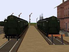LBE 3. Klasse Wagen nach Zeichnung Nr. 38