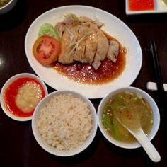 Mandarin chicken rice at #pxpavilion #jakarta #food #kuliner
