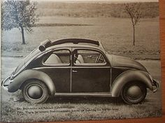 VW38 featuring a roll back fabric sunroof.  Para saber más sobre los coches no olvides visitar marcasdecoches.org
