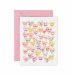 Valentine Sweetheart Available as a Single Folded Card or Boxed Set of 8