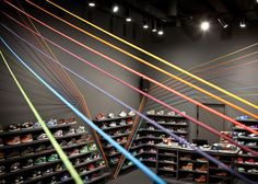 The Run Colors trainer store in Poznań, Poland