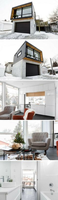 HO2 Tiny Shipping Container House