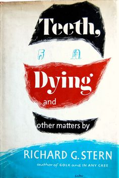Book cover design by George Salter 1964