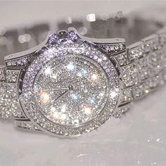 Square Diamante Buckle Silver each 115034-S