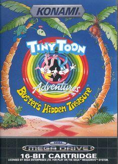 Tiny Toon ~ Buster's Hidden Treasure - Sega Megadrive / Genesis