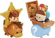 Amazon.com: TSUM TSUM Disney 7 Pack Figures Series 7, Style #2, Toy Story Pack Toy Figure: Toys & Games Tsum Tsum Figures, Tsumtsum, Disney Tsum Tsum, Ty Beanie, Lego Batman, Doll Accessories, Toy Story, American Girl, Packing