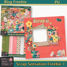 Kathie Stevens Designs: New Scrap Sensation Kit and Freebies!