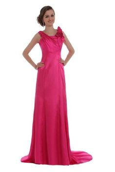 Elegant Bateau Neckline Brush Length Taffeta Evening Dress ZW008 (4, Fushia) Lemandy http://www.amazon.co.uk/dp/B00HYSKQMI/ref=cm_sw_r_pi_dp_-Nliwb052TTFZ