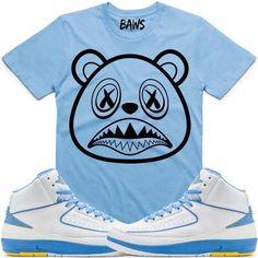 207e320ff2c615 BAWS LOGO Sneaker Tees Shirt - Jordan Retro 2 Melo