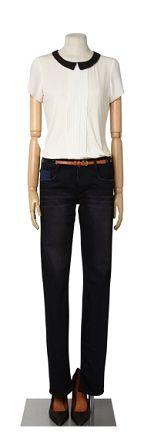 comptoir de cotonnier, Le détail en plus Style Guides, Women Wear, Inspirational, Black And White, Detail, My Style, Classic, Fitness, Pants