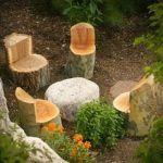 Tree Stump For Garden Art_6