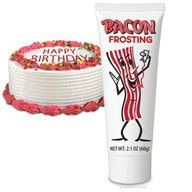 Bacon Frosting!jen you have to get this for livy!
