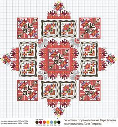 Cross Stitch Borders, Cross Stitch Rose, Cross Stitch Samplers, Cross Stitch Charts, Cross Stitch Designs, Cross Stitching, Cross Stitch Patterns, Palestinian Embroidery, Hungarian Embroidery