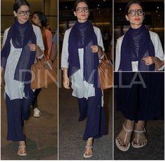 Kangana Ranaut # casual look # travel dairies # Pallazo love # Indian fashion