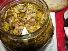 kuchnia pod wulkanem: Melanzane sott'olio, czyli baklazany w oliwie
