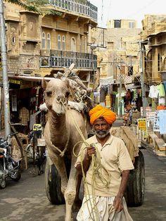 Rajasthan Street Scene - India