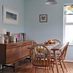 Esszimmer Wohnideen Möbel Dekoration Decoration Living Idea Interiors home dining room - Retro-Stil Esszimmer