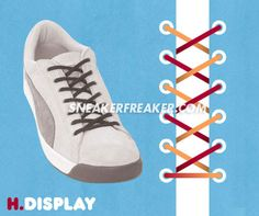 How to lace Adidas Superstar bar lacing YouTube