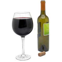 Verre à bouteille de vin