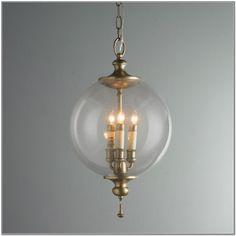 Clear Glass Pendant Light Globes
